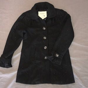 Girls large pea coat jacket.